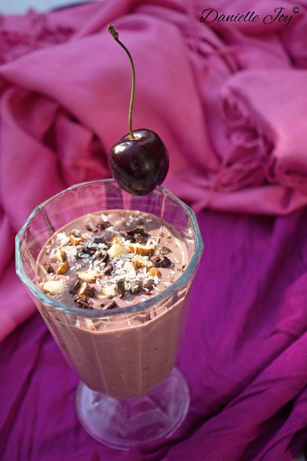 Kokos Amandel Kersen Chocolade Smoothie