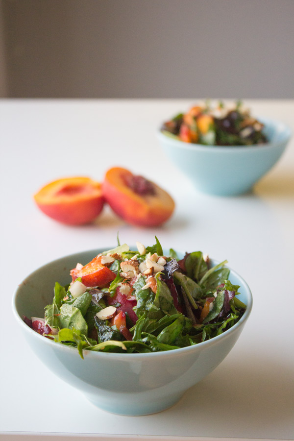 Simpele Perzik Salade