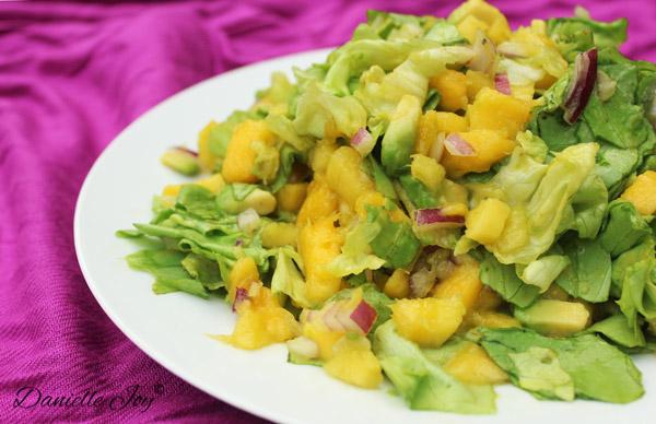 Mango-Avocado Salade Zonder Dressing 2
