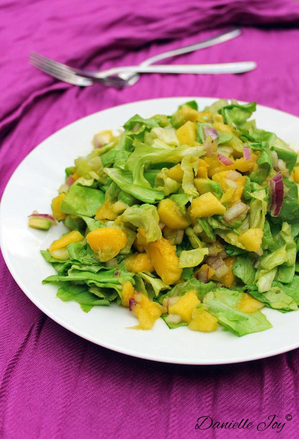 Mango-Avocado Salade Zonder Dressing 3