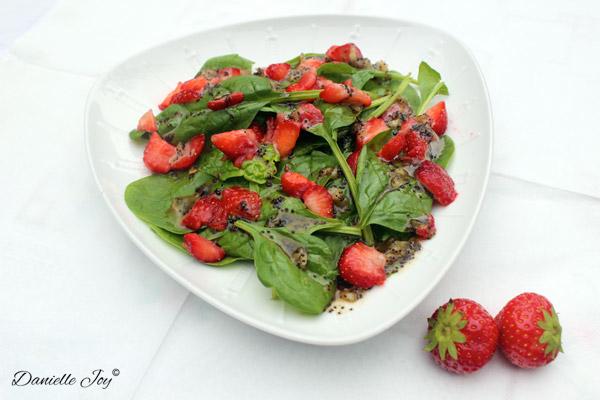 Aardbeien-Spinazie Salade 1